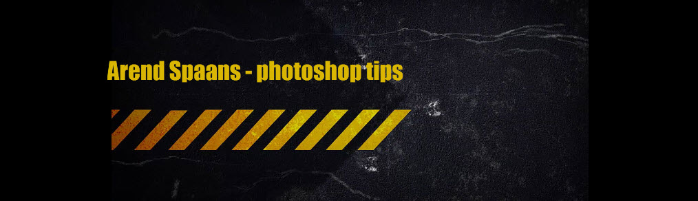 Arend Spaans photoshop tips