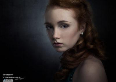 Model: Jamie Gloudemans Visagie: Priscilla Wiemans