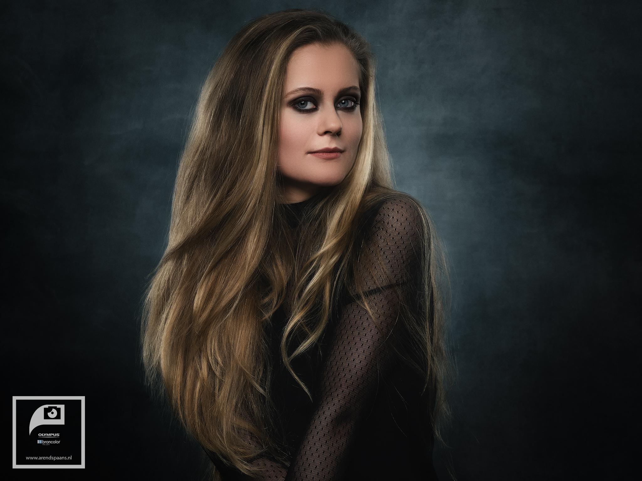 Visagie: Melissa Blankendaal. Model: Anne