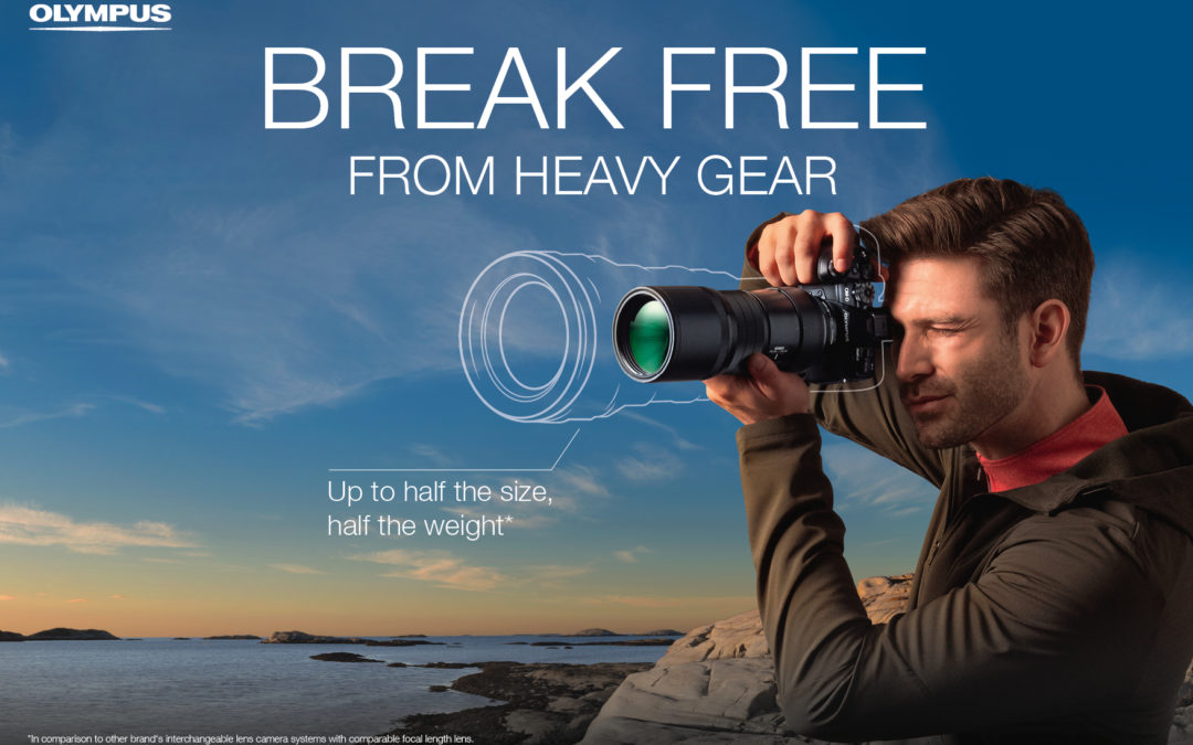 Break free from heavy gear